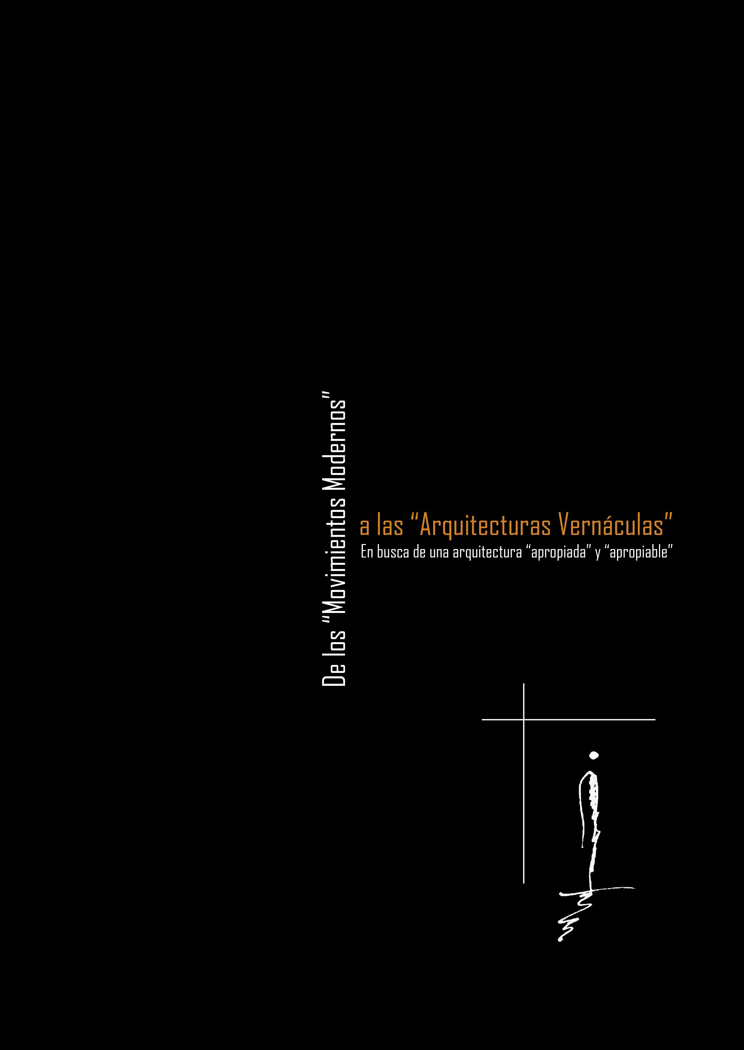 Caratula De los Moviemientos Modernos a las Arquitecturas Vernáculas.jpg